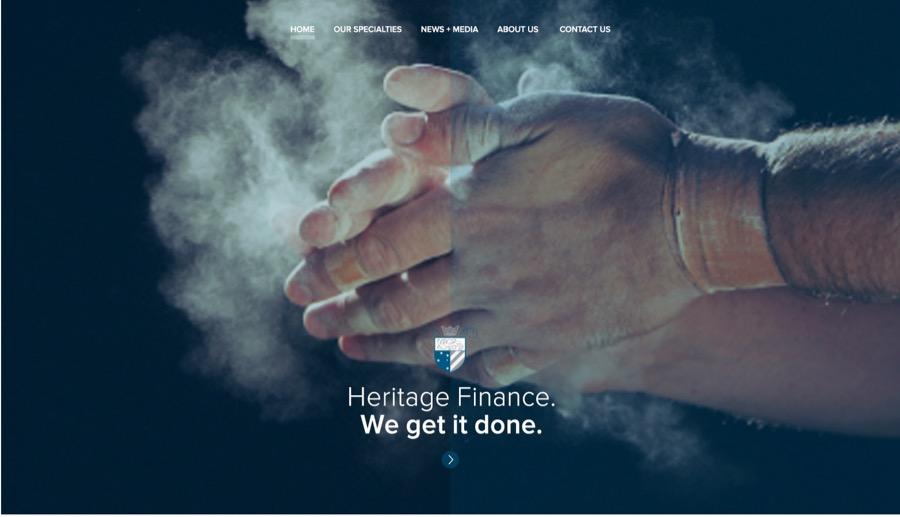 Heritage Finance - We get it done - hands