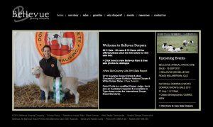 web design brisbane - old bellevue dorper site